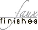 Faux Finishes Inc Logo