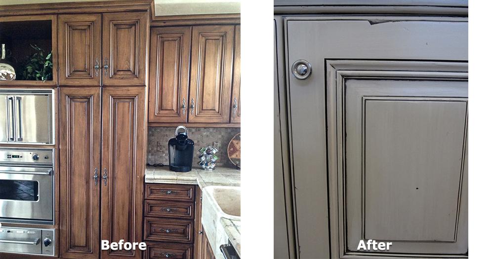 Kitchen Cabinet Refurbish - 2