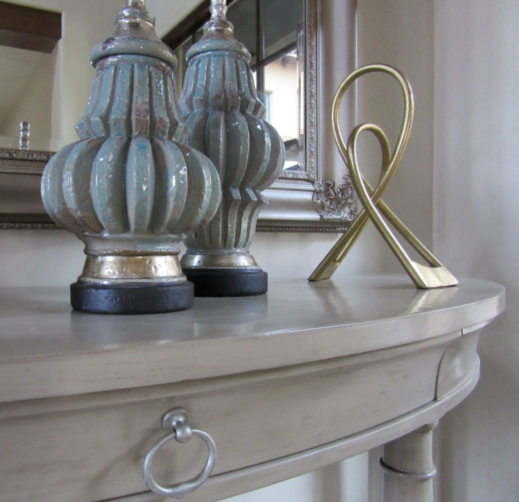 Recolored Foyer Table