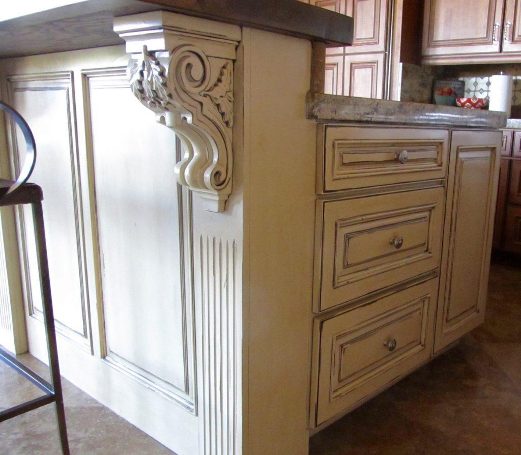 Kitchen Island Cabinet Refurbish