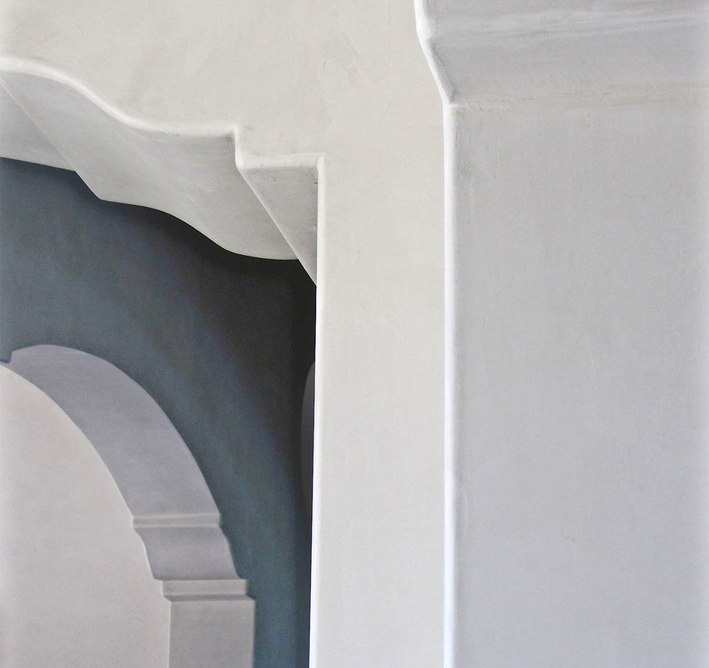 soft matte plaster finish