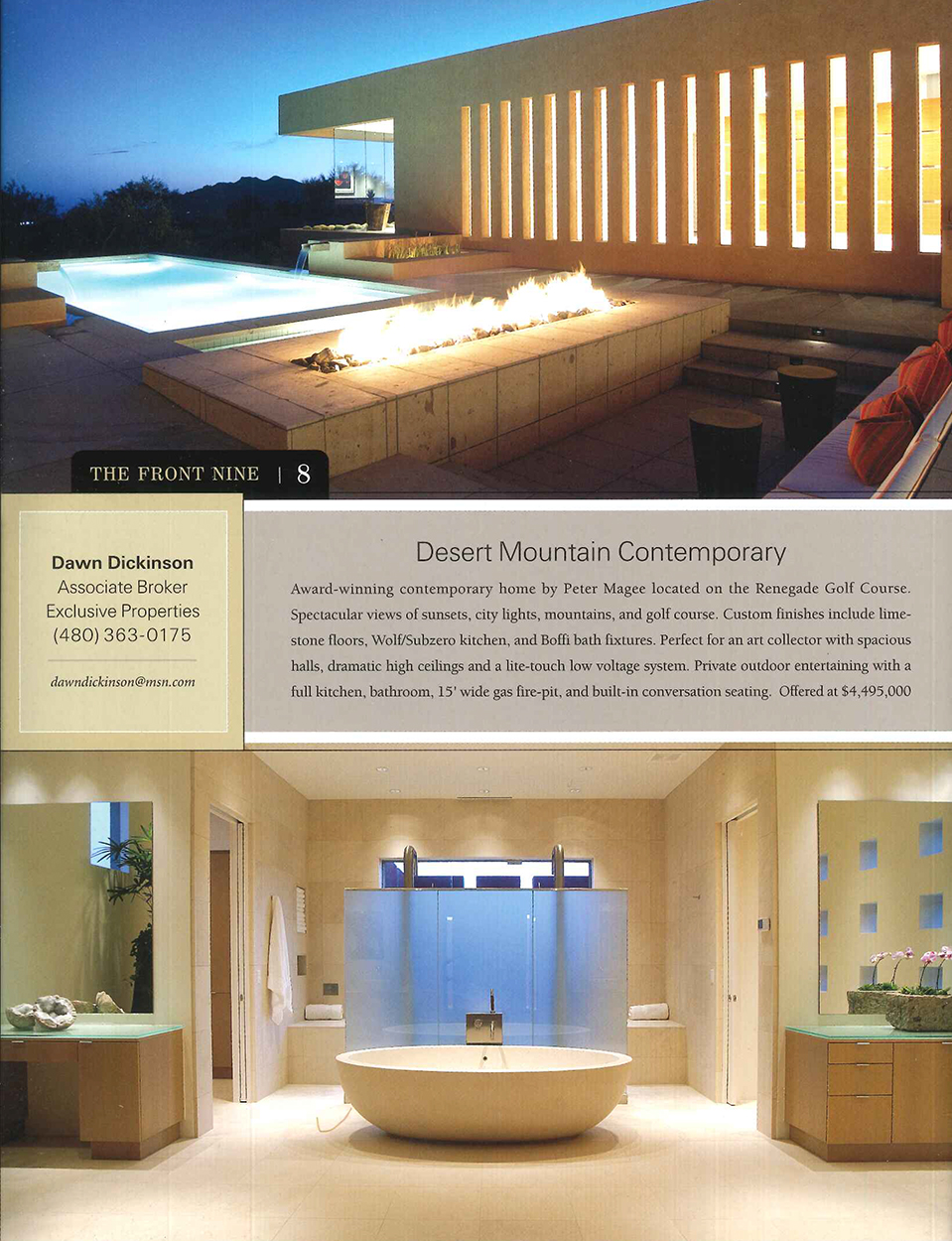 Desert Mountain Contemporary article