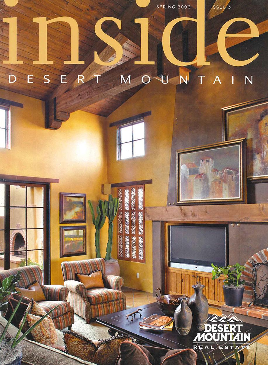 Inside Desert Mountain - Spring 2006; Scottsdale