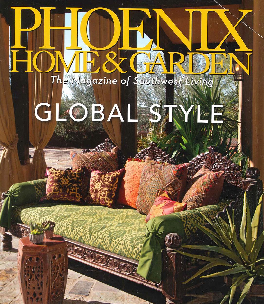 Phoenix Home & Garden - May 2014; Fire Rock in Fountain Hills