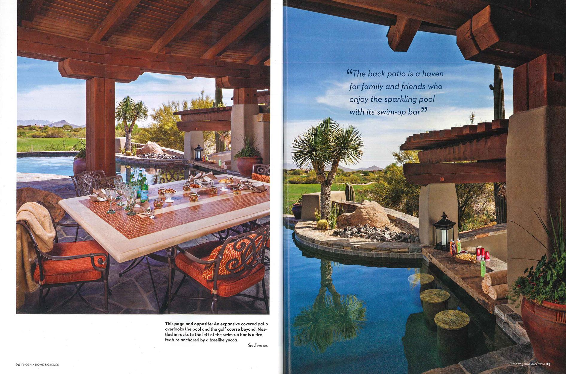 Phoenix Home & Garden, Curve Appeal article
