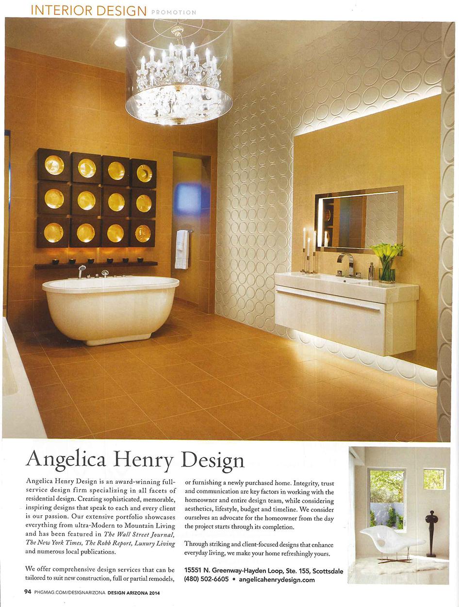 Phoenix home & Garden Design; Chandler home