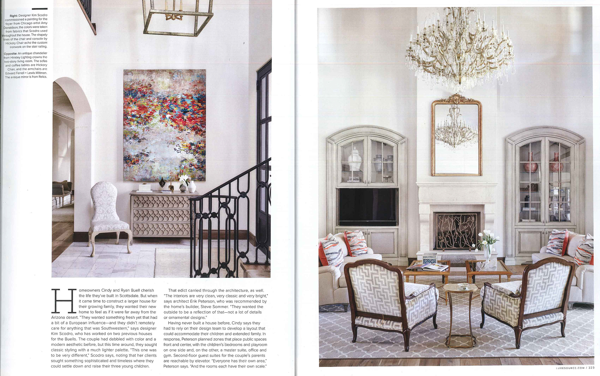 Luxe article; home in Silver leaf, Scottsdale