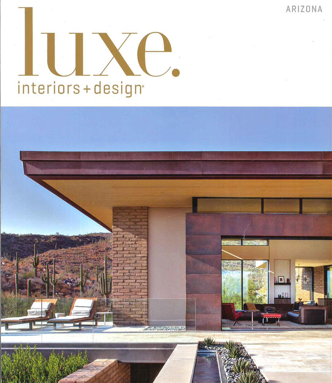 luxe interiors + design magazine