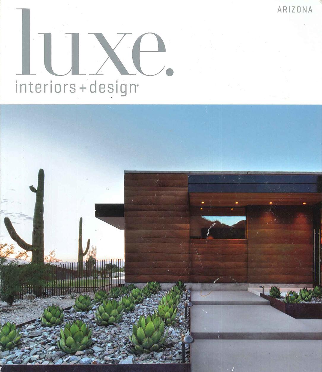 luxe. interiors + design - Winter 2015; Scottsdale
