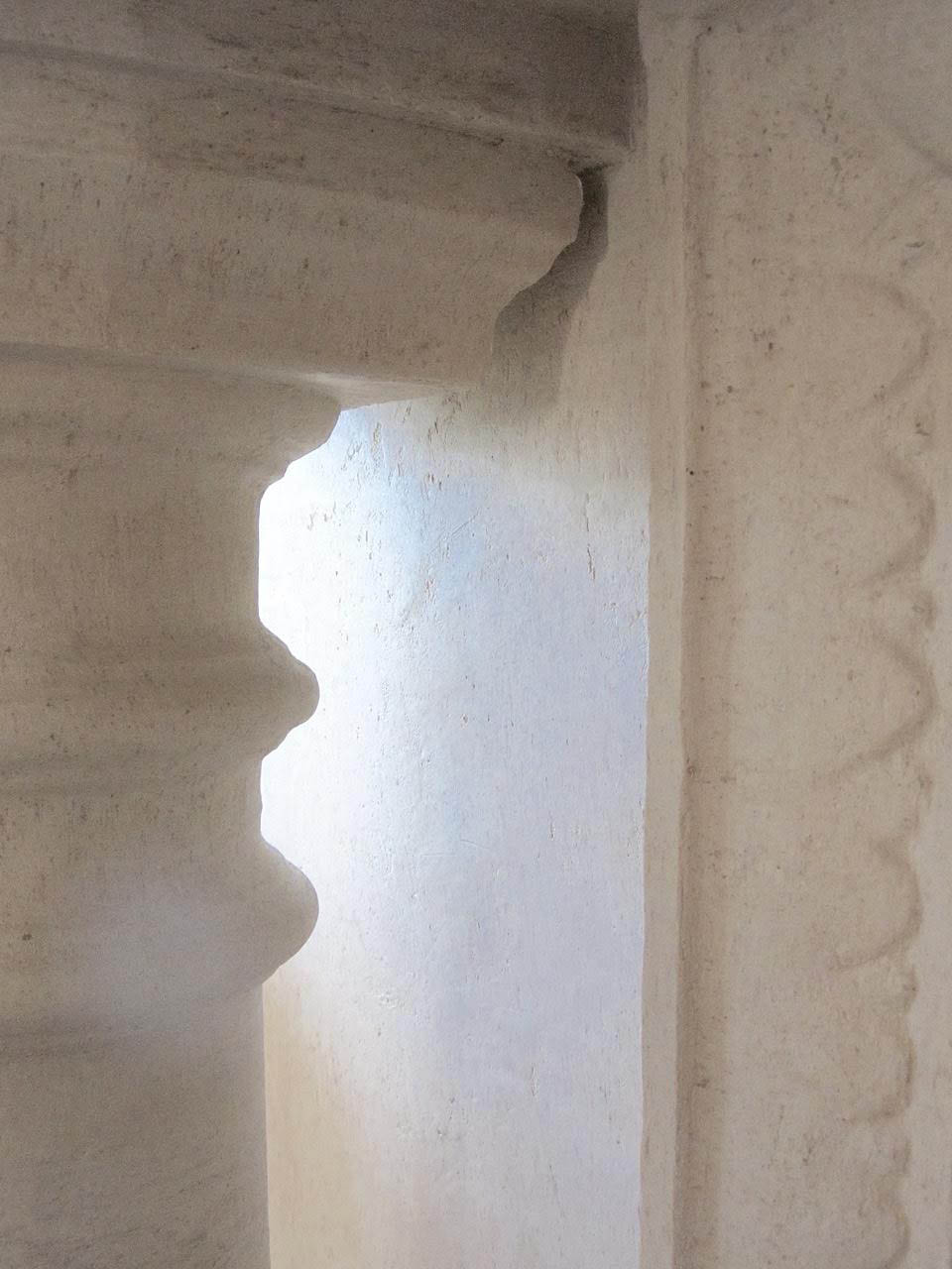 faux finish stone column