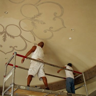 Painting Living Room Dome Ceiling