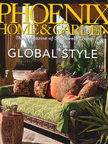 Phoenix Home & Garden – May 2014; Fire Rock in Fountain Hills