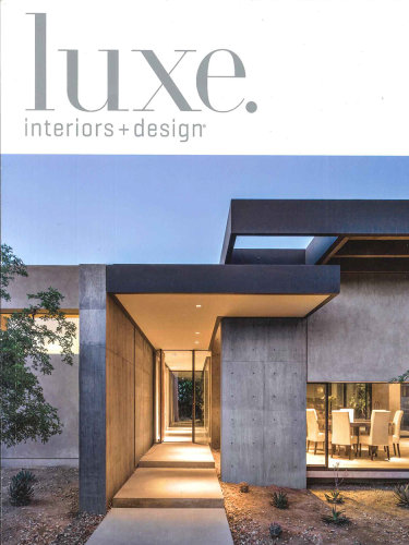 luxe. interiors + design – Sept/Oct 2016; Silverleaf in Scottsdale