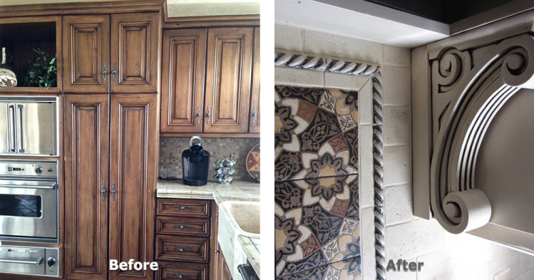 Kitchen Cabinet Refurbish