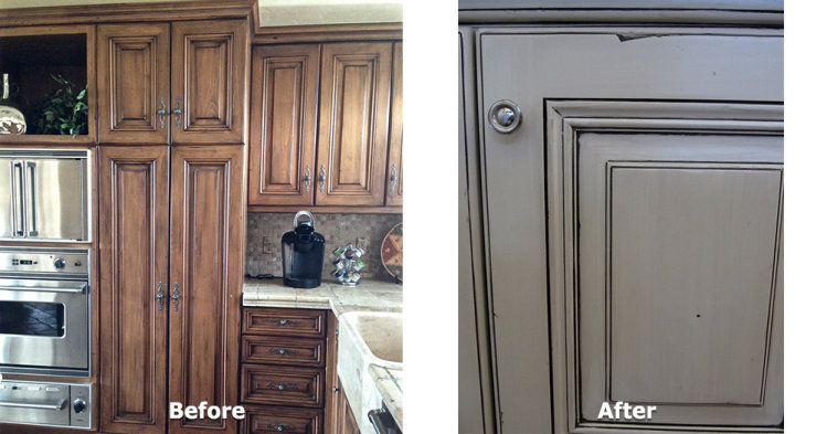 Kitchen Cabinet Refurbish - 2