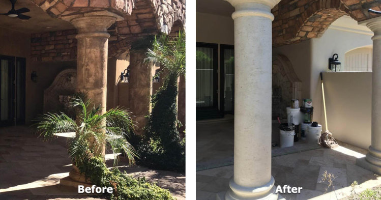 Outdoor Pillars