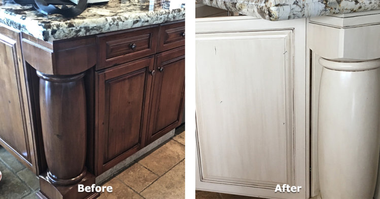 Kitchen Island Cabinet Refurbish