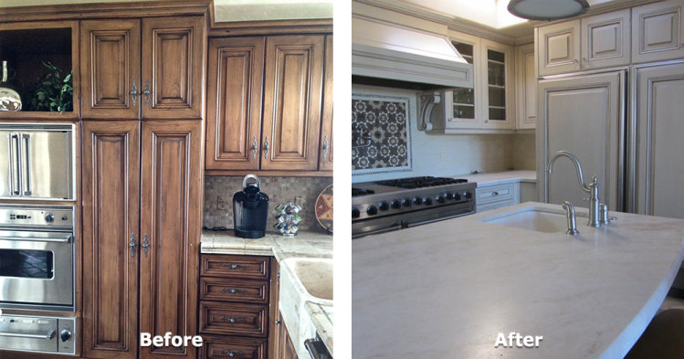 Kitchen Cabinet Refurbish - 3